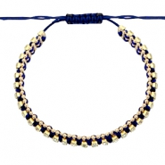 Trendy armbanden strass Dark blue-crystal