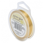 22 Gauge Artistic Wire Tarnish resistant brass