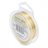 24 Gauge Artistic Wire Tarnish resistant brass