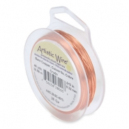 28 Gauge Artistic Wire Bare copper