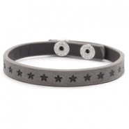 Trendy armbanden stars Dark grey