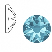 Swarovski Elements 2088-SS 34 flatback (7mm) Xirius Rose Aquamarine blue