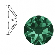 Swarovski Elements 2088-SS 34 flatback (7mm) Xirius Rose Emerald green