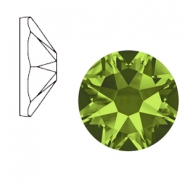 Swarovski Elements 2088-SS 34 flatback (7mm) Xirius Rose Olivine green