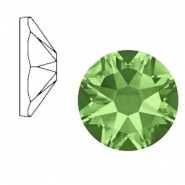 Swarovski Elements 2088-SS 34 flatback (7mm) Xirius Rose Peridot green