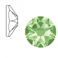 Swarovski Elements 2088-SS 34 flatback (7mm) Xirius Rose Chrysolite green