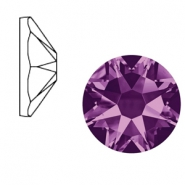 Swarovski Elements 2088-SS 34 flatback (7mm) Xirius Rose Amethyst purple