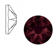 Swarovski Elements 2088-SS 34 flatback (7mm) Xirius Rose Burgundy red