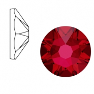 Swarovski Elements 2088-SS 34 flatback (7mm) Xirius Rose Scarlet red