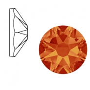 Swarovski Elements 2088-SS 34 flatback (7mm) Xirius Rose Fire opal orange