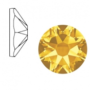 Swarovski Elements 2088-SS 34 flatback (7mm) Xirius Rose Sunflower yellow