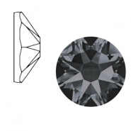 Swarovski Elements 2088-SS 34 flatback (7mm) Xirius Rose Crystal silver night