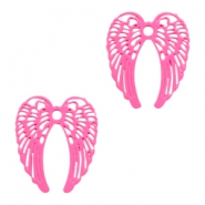 Hangers bohemian angel wings Pink