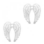 Hangers bohemian angel wings Zilver