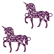 Tussenstukken bohemian unicorn Dark purple