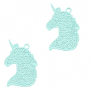 Hangers bohemian unicorn Fresh mint green