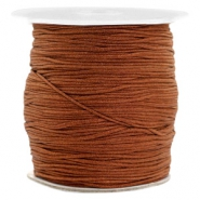 Macramé draad 1.0mm Chocolate brown