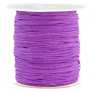 Macramé draad 1.0mm Soft grape purple