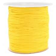 Macramé draad 1.0mm Soft sunflower yellow