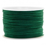 Macramé draad 1.0mm Atlantic deep green