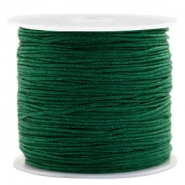 Macramé draad 0.8mm Atlantic deep green