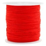 Macramé draad 0.5mm Candy red