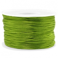 Macramé draad 1.5mm satin Light olive green