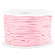 Macramé draad 1.5mm satin Light pink