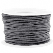 Waxkoord 1.5mm Warm grey
