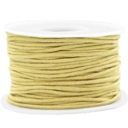 Waxkoord 1.5mm Ceylon yellow