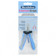 Beadalon fashion grips tangen covers tiger Blauw