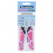 Beadalon fashion grips tangen covers giraffe Roze