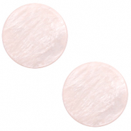 12 mm platte cabochon Polaris Elements Lively Delicacy pink