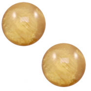 20 mm classic Cabochon Polaris Elements Mosso shiny Cedar brown