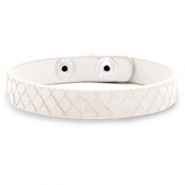 Trendy armbanden snake Off white