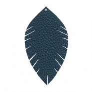 Imi leer hangers leaf medium Dark blue