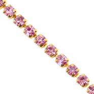 Strass chain Hawthorn rose-gold