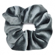 Scrunchies haarelastiek velvet Grey