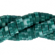 Katsuki kralen 4mm Dark teal green