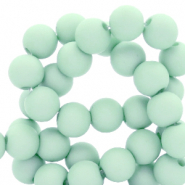 4 mm acryl kralen Soothing sea blue