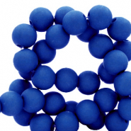 4 mm acryl kralen Royal blue