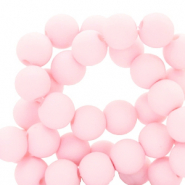 6 mm acryl kralen Light pink