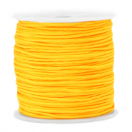 Macramé draad 1.5mm Marigold cheer yellow