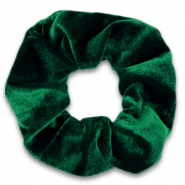 Scrunchies haarelastiek velvet Fir green
