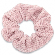 Scrunchies haarelastiek corduroy Rose tan