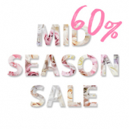 Sale MID SEASON SALE 60%