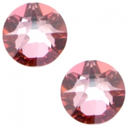 Swarovski Elements 2088-SS34 flatback Xirius Rose Crystal antique pink