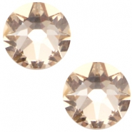 Swarovski Elements 2088-SS34 flatback Xirius Rose Light silk beige