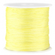 Macramé satijndraad 0.8 mm Tender yellow