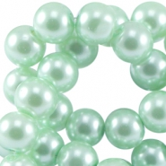 Top quality glasparel 6 mm Crysolite green